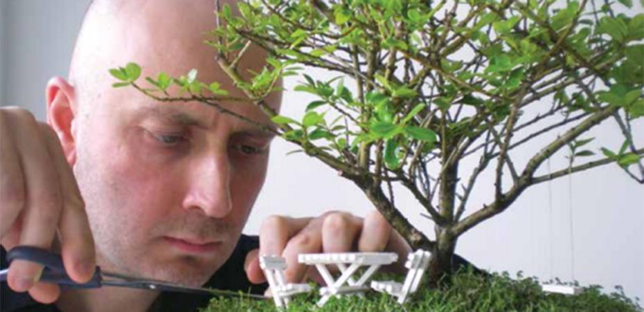 El Yapımı Minyatür Bahçeler