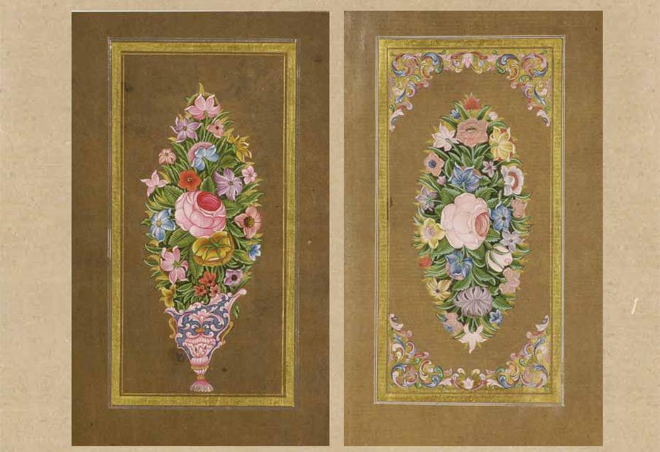 e59637ab5e221 Kitaplarda Açan Çiçekler Sadberk Hanım Müzesi Koleksiyonundan Bir Çiçek  Albümü